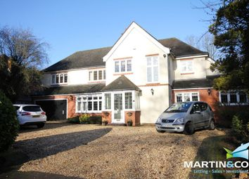 Thumbnail 5 bedroom detached house to rent in Croftdown Road, Harborne