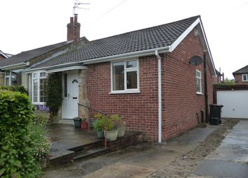 Thumbnail 2 bed bungalow to rent in Rudbeck Drive, Harrogate