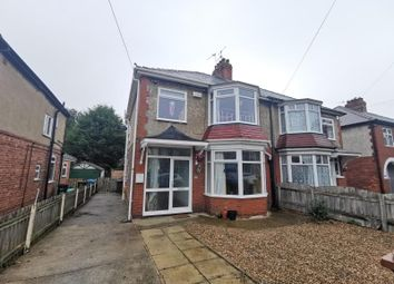 Thumbnail 3 bed semi-detached house to rent in Allderidge Avenue, Hull