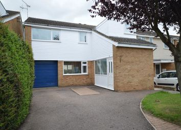 Thumbnail 4 bedroom detached house for sale in Naseby Way, Great Glen, Leicester