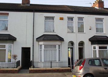 Thumbnail 2 bedroom terraced house for sale in Carrington Street, Hull