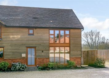 Thumbnail 2 bed semi-detached house for sale in The Street, Greywell, Hampshire