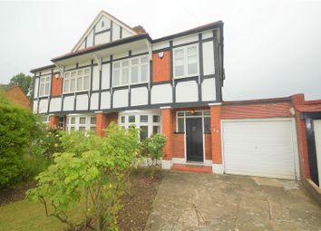Thumbnail 3 bed semi-detached house to rent in Chalgrove Crescent, Clayhall, Ilford