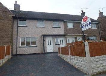 Thumbnail 3 bed terraced house for sale in Bryn Golau, Southsea, Wrexham