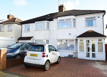 Thumbnail 4 bedroom semi-detached house to rent in Highfield Avenue, Greenford, Middlesex
