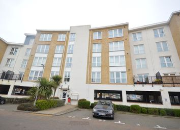 Thumbnail 1 bed flat for sale in Admirals Way, Gravesend