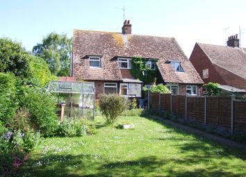 Thumbnail 3 bed semi-detached house for sale in Park End, Saxmundham, Suffolk