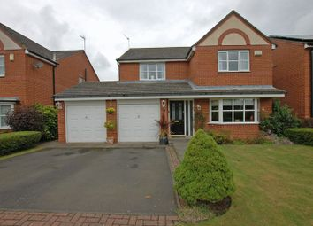 Thumbnail 4 bed detached house for sale in North Mason Lodge, Dinnington, Newcastle Upon Tyne