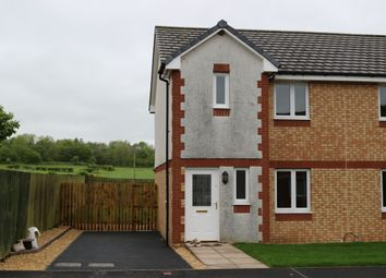 Thumbnail 3 bed semi-detached house for sale in Meadowfoot Gardens, Ecclefechan, Lockerbie