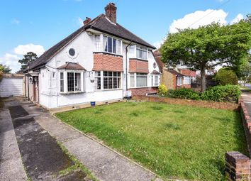 Thumbnail 2 bed semi-detached house for sale in Walsingham Gardens, Stoneleigh, Epsom