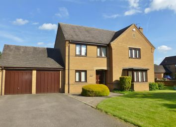 Thumbnail 4 bedroom detached house for sale in Lodge Gardens, Oakham