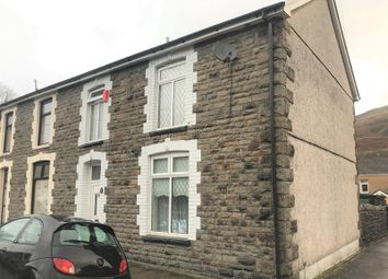 Thumbnail 4 bed end terrace house for sale in Rees Street, Gelli, Pentre, Rhondda Cynon Taff.