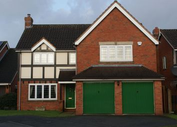 Thumbnail 4 bed detached house for sale in Bexmore Drive, Streethay, Lichfield