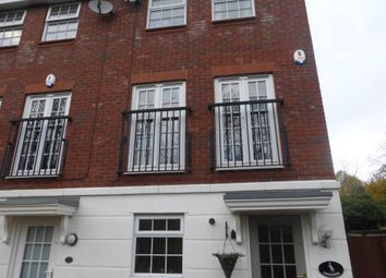 Thumbnail 3 bed town house to rent in Navigation Drive, Glen Parva, Leicester