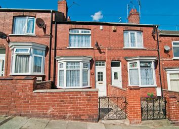 Thumbnail 2 bed terraced house to rent in Burton Avenue, Warmsworth, Doncaster