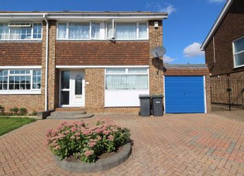 Thumbnail 3 bed semi-detached house for sale in Leyhill Drive, Luton