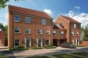 Thumbnail 3 bed town house for sale in Blue Boar Lane, Off Wroxham Road, Norwich, Norfolk