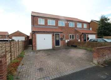 Thumbnail 3 bed semi-detached house to rent in Corner Farm South Duffield Road, Osgodby, Selby