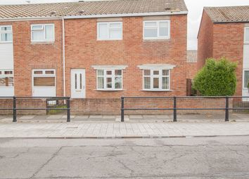 Thumbnail 3 bed end terrace house for sale in Durham Street, Headland Hartlepool