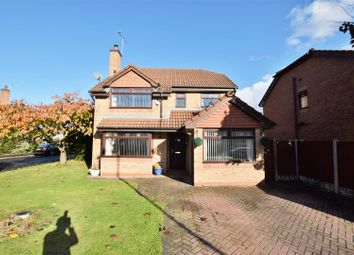 Thumbnail 4 bed detached house for sale in Saughall Massie Lane, Upton, Wirral