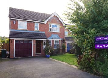 Thumbnail 4 bed detached house for sale in Cholmondeley Rise, Malpas