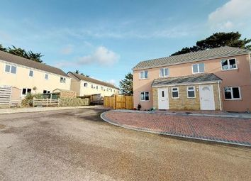 Thumbnail 3 bedroom end terrace house for sale in Crowlas, Penzance, Cornwall.