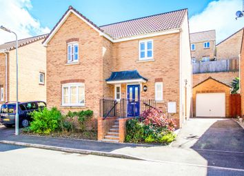 Thumbnail 4 bed detached house for sale in Kingfisher Road, North Cornelly, Bridgend