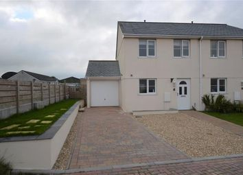 Thumbnail 3 bed semi-detached house for sale in Mathew Close, Moorland Road, Indian Queens, St. Columb