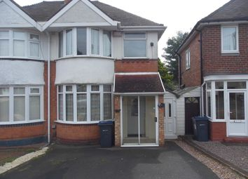 Thumbnail 3 bed semi-detached house for sale in Ryde Park Road, Rednal, Birmingham