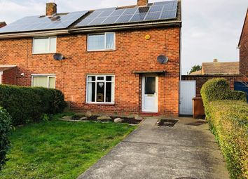 Thumbnail 3 bedroom semi-detached house for sale in Nocton Drive, Lincoln