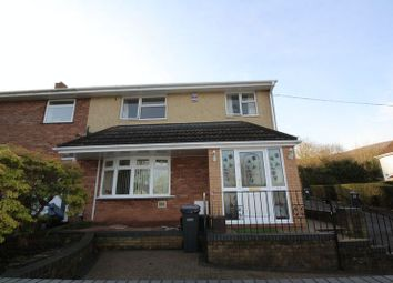 Thumbnail 3 bed terraced house for sale in Rhiw Melin, Upper Cwmbran, Cwmbran