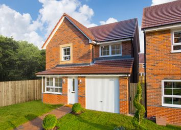 "Thumbnail 3 bed detached house for sale in ""Derwent"" at Station Road, Methley, Leeds"