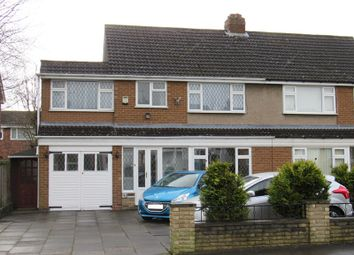 Thumbnail 4 bed semi-detached house for sale in Langley Hall Road, Solihull