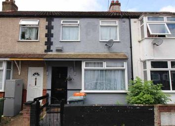 Thumbnail 3 bed terraced house for sale in Walton Road, Manor Park, Greater London