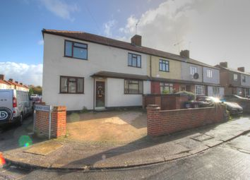 Thumbnail 3 bedroom end terrace house for sale in Mildred Close, Dartford