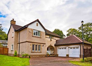 Thumbnail 5 bed detached house for sale in Craigerne Drive, Peebles