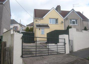 Thumbnail 2 bed semi-detached house for sale in Elgam Avenue, Blaenavon, Pontypool