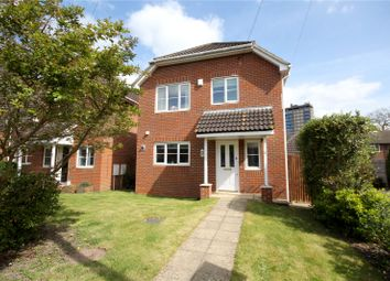 Thumbnail 3 bed detached house for sale in Brighton Close, Addlestone, Surrey