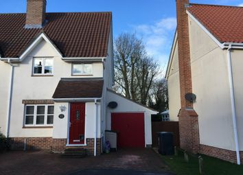 Thumbnail 3 bed semi-detached house for sale in Columbine Way, Gislingham, Eye