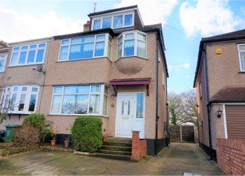 Thumbnail 4 bed end terrace house for sale in Lawns Way, Romford