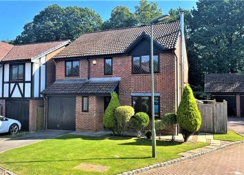 Thumbnail 4 bed detached house for sale in Drayhorse Drive, Bagshot, Surrey