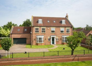 Thumbnail 5 bedroom detached house for sale in The Village, Earswick, York