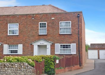 Thumbnail 3 bed end terrace house to rent in The Street, Rustington, Littlehampton