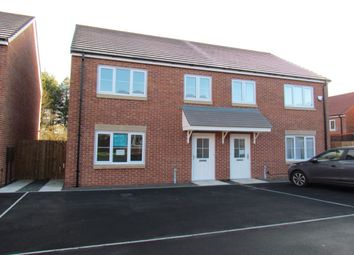 Thumbnail 3 bed semi-detached house for sale in Roedeer Court, Wideopen, Newcastle Upon Tyne