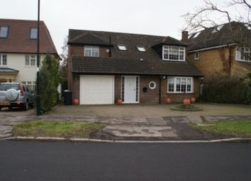 Thumbnail 4 bed detached house to rent in Claremont Road, Hadley Wood
