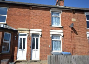 Thumbnail 3 bed terraced house for sale in High Road West, Felixstowe