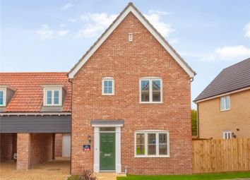 Thumbnail 3 bed link-detached house for sale in Plot 20, The Neate, Saxon Meadow, Days Road, Capel St. Mary, Ipswich