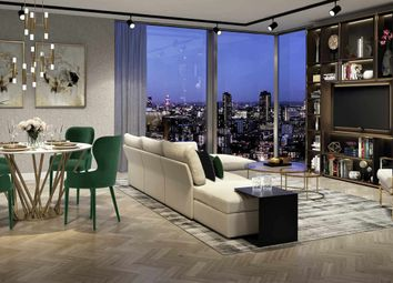 Thumbnail 3 bed flat for sale in Carrara Tower, 250 City Road, Old Street, London