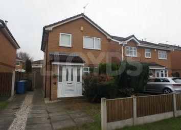Thumbnail 3 bed detached house to rent in Lockerbie Close, Cinnamon Brow, Warrington