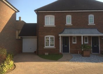 Thumbnail 3 bed semi-detached house to rent in Heronslee, Shefford